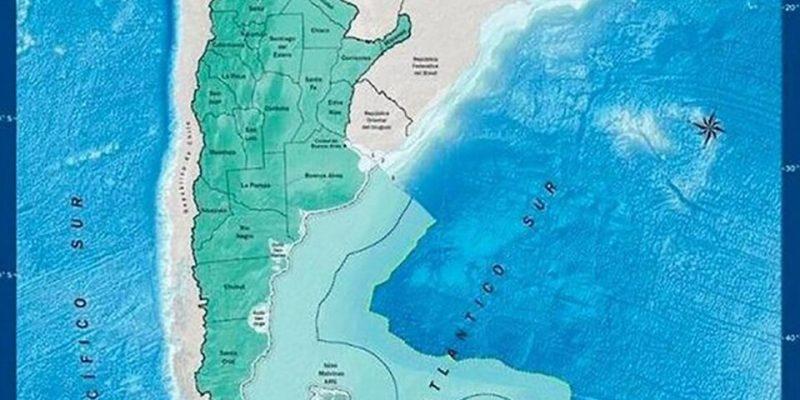 mapa argentina chile
